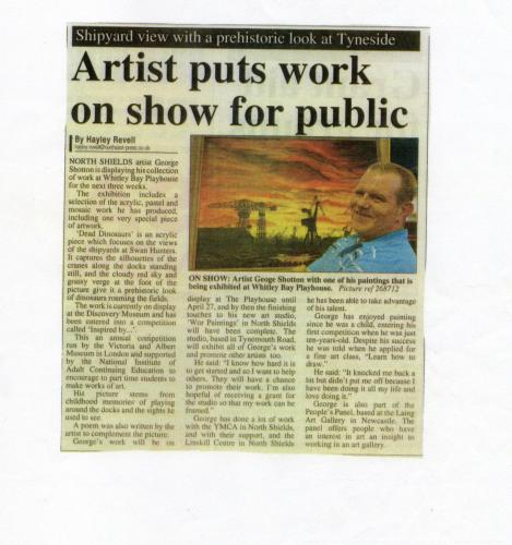 2007 George Shotton newsclip